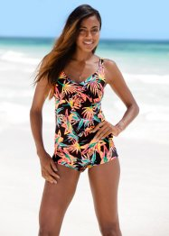 Top per tankini, bpc bonprix collection, Arancione fantasia