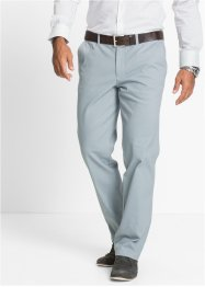 Pantalone chino elasticizzato regular fit straight, bpc selection, Grigio