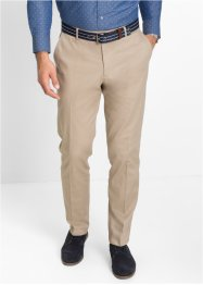 Pantalone classico elasticizzato regular fit, bpc selection, Beige