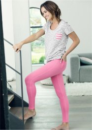 Leggings, RAINBOW, Rosa acceso