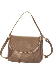 Borsa con catenella, bpc bonprix collection, Marroncino