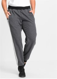 Pantalone in felpa lungo, bpc bonprix collection, Antracite melange