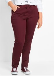 Pantalone elasticizzato con cinta a costine, bpc bonprix collection