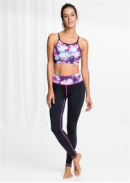 Top + leggings per lo sport (set 2 pezzi), bpc bonprix collection