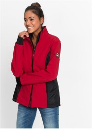 Giacca in softshell 2 in 1 con gilet, bpc bonprix collection, Rosso scuro