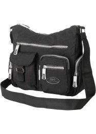 "Borsa a tracolla ""Casual"", bpc bonprix collection, Nero"