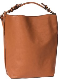 "Borsa shopper ""Basic"", bpc bonprix collection, Cognac"