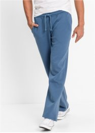 Pantalone da jogging regular fit, bpc bonprix collection, Blu jeans