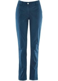 Pantaloni chino con cinta regolabile, bpc bonprix collection, Blu scuro