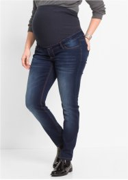 Jeans prémaman super elasticizzato skinny, bpc bonprix collection, Dark denim