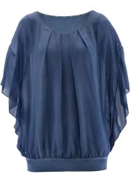 Blusa in look usato, bpc selection premium, Indaco