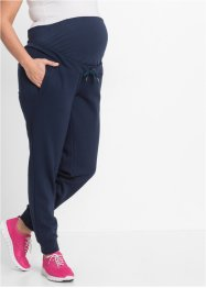 Pantaloni da fitness prémaman, bpc bonprix collection, Blu scuro