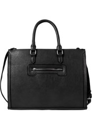 Borsa business con manici, bpc bonprix collection, Nero