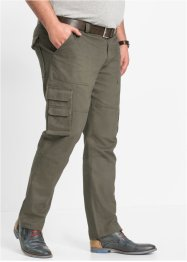 Pantalone cargo regular fit straight, bpc selection