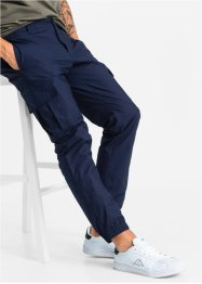 Pantalone cargo regular fit tapered, RAINBOW, Blu scuro