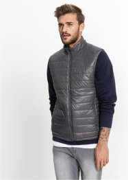 Gilet regular fit, RAINBOW, Antracite