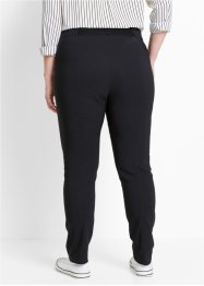 Pantaloni cropped in bengalina con elastico slim fit, bpc bonprix collection