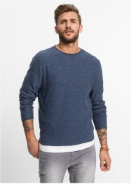 Pullover regular fit, RAINBOW, Blu scuro melange