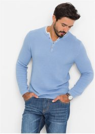 Pullover regular fit, bpc bonprix collection, Blu perlato