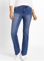 Jeans push-up super elasticizzato bootcut, bpc bonprix collection