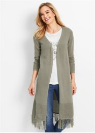 Cappotto in maglia Maite Kelly, bpc bonprix collection, Kaki scuro