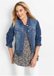Giacca in jeans Maite Kelly, bpc bonprix collection, Blu stone used