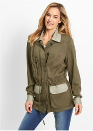 Parka Maite Kelly, bpc bonprix collection, Kaki