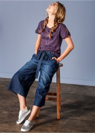 Culotte di jeans, RAINBOW, Dark denim