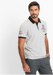 Polo regular fit, bpc selection, Grigio melange