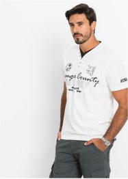 T-shirt regular fit, bpc selection, Bianco