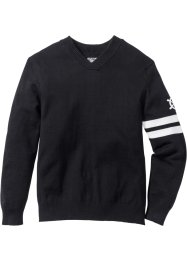 Pullover con scollo a V regular fit, bpc bonprix collection