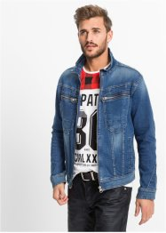 Giacca di jeans elasticizzata regular fit, RAINBOW, Blu used