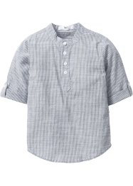 Camicia, bpc bonprix collection, Blu scuro / bianco a righe
