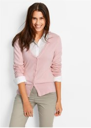 Cardigan, bpc bonprix collection, Rosa perlato