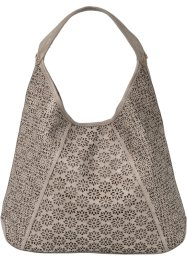 Borsa shopper traforata al laser, bpc bonprix collection