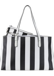 "Borsa shopper ""Stripes"", bpc bonprix collection"