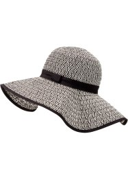 Cappello, bpc bonprix collection, Nero / bianco