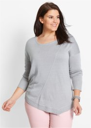 Pullover oversize in filato fine, bpc bonprix collection