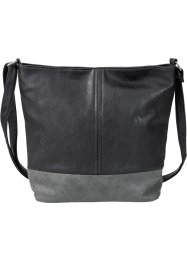 Borsa shopper bicolore media, bpc bonprix collection