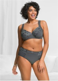 Reggiseno, bpc selection, Antracite / grigio neutro