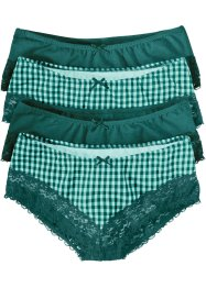 Panty, bpc bonprix collection, Menta pastello / petrolio