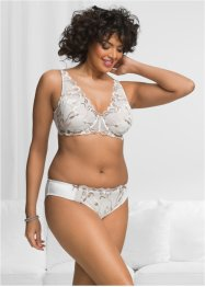 Reggiseno, bpc selection, Ecru / marroncino