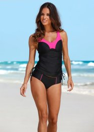 Tankini minimizer, bpc bonprix collection, Fucsia / nero