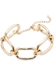 Bracciale a maglie, bpc bonprix collection, Color oro