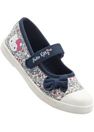 "Ballerina ""HELLO KITTY"", Hello Kitty, Blu / a fiori"