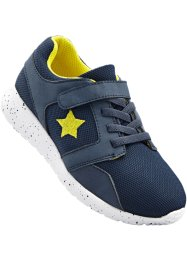 Sneaker, bpc bonprix collection, Blu / giallo