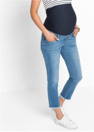 Jeans prémaman 7/8 con frange, bpc bonprix collection