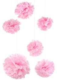 Pompon di carta (set 6 pezzi), bpc living