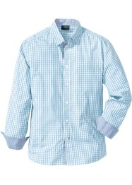 Camicia a quadretti regular fit, bpc selection