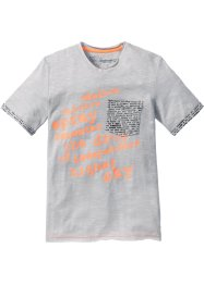 T-shirt, bpc bonprix collection, Grigio